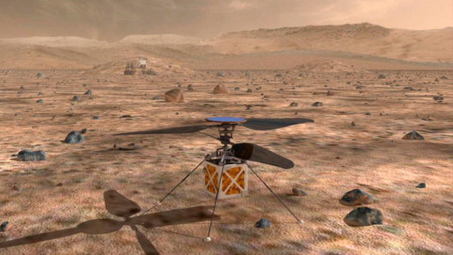 La NASA enviará por primera vez un helicóptero a explorar Marte
