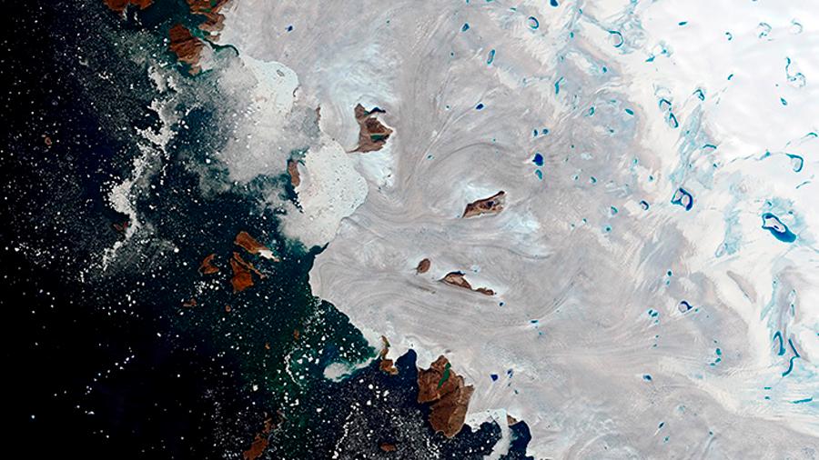 Ola de calor derritió el jueves hielo ártico en Groenlandia equivalente a 4,4 millones piscinas olímpicas