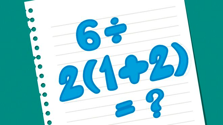 6 ÷ 2(1+2) Por qué la solución a esta sencilla ecuación es tan problemática