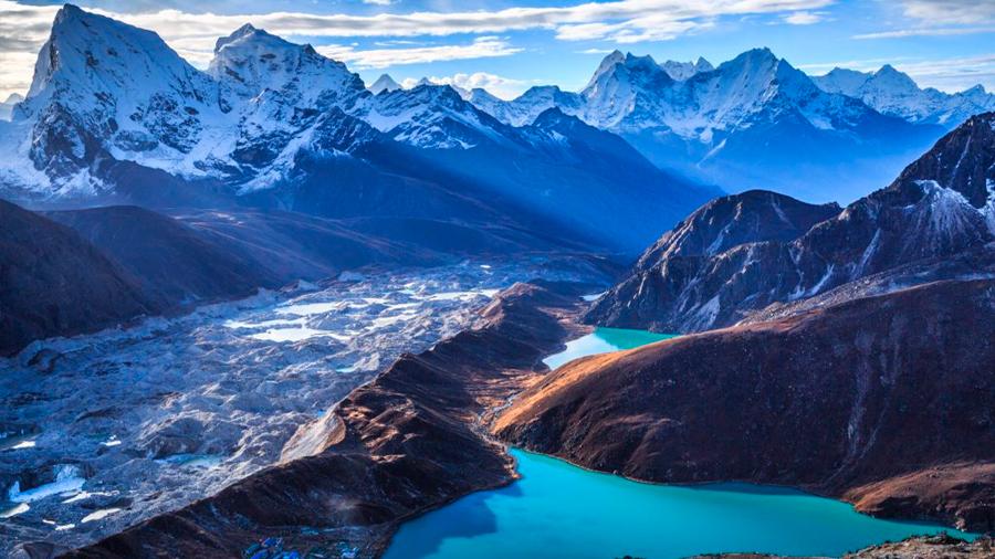Glaciares en fusión del Himalaya liberan polución atrapada hace décadas