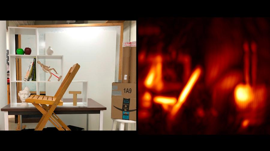 Investigadores españoles crean una cámara que permite capturar imágenes de objetos ocultos