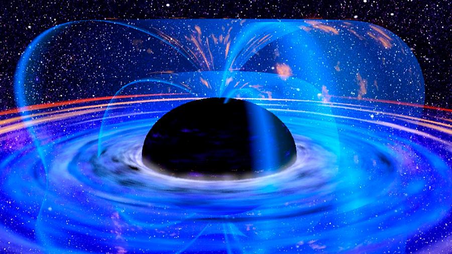 Se descubre un agujero negro tan grande como 40,000 millones de soles