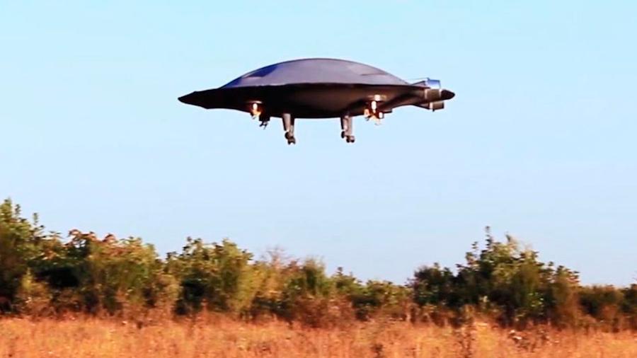 Crean un platillo volante capaz de desplazarse por el aire en todas direcciones