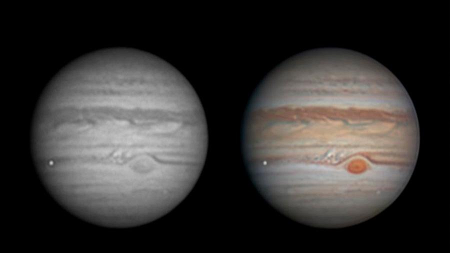 Un astrónomo aficionado logró captar el impacto de un meteorito en Júpiter