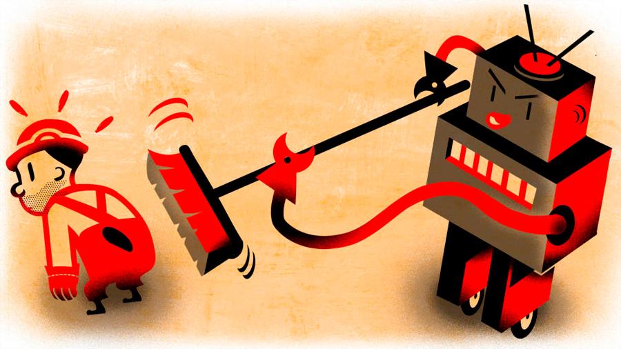 La gente prefiere perder su trabajo frente a los robots que frente a otras personas