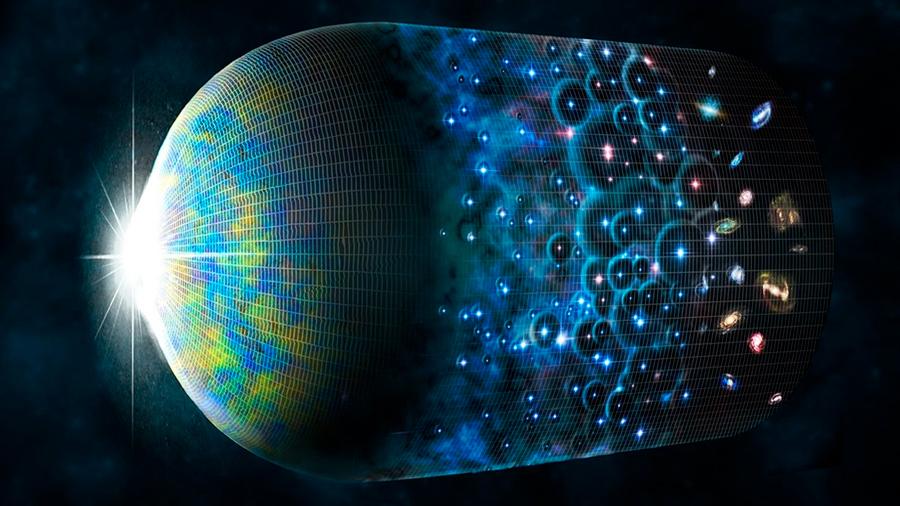 La materia oscura puede ser más antigua que el Big-Bang