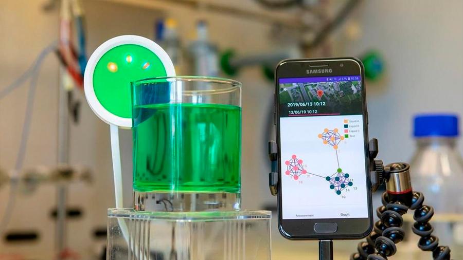 Desarrollan una 'lengua electrónica' que identifica líquidos a través de la Inteligencia Artificial