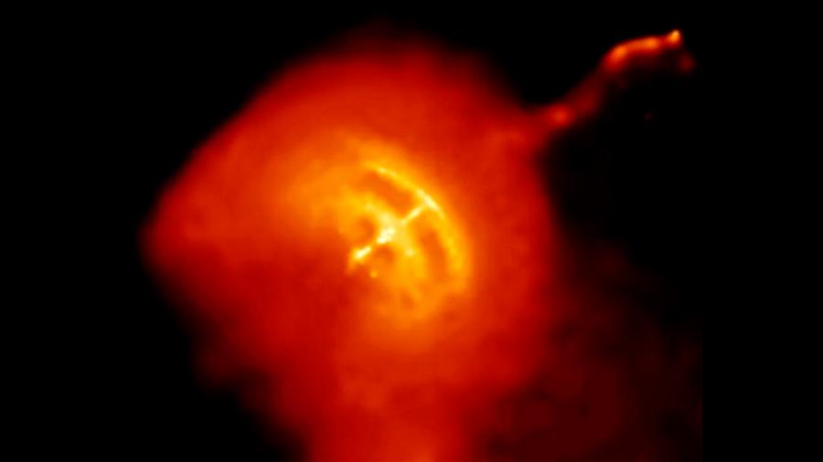 Un fallo en una estrella de neutrones revela sus secretos ocultos