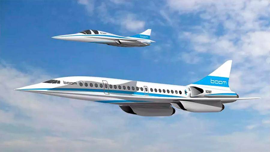 El Concorde resucita: así será el avión supersónico capaz de volar a 2.700 km por hora sin emisiones