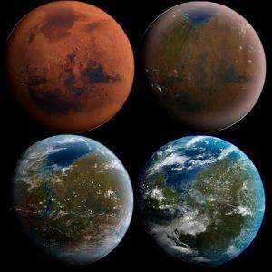 Elon Musk relanza su propuesta de terraformar Marte con bombas atómicas