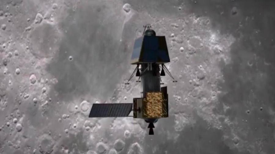 La misión india Chandrayaan-2 se inserta en órbita lunar