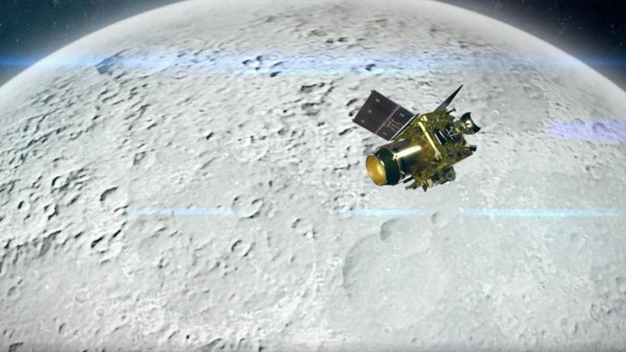 Sonda india Chandrayaan 2 entró sin problemas en órbita lunar