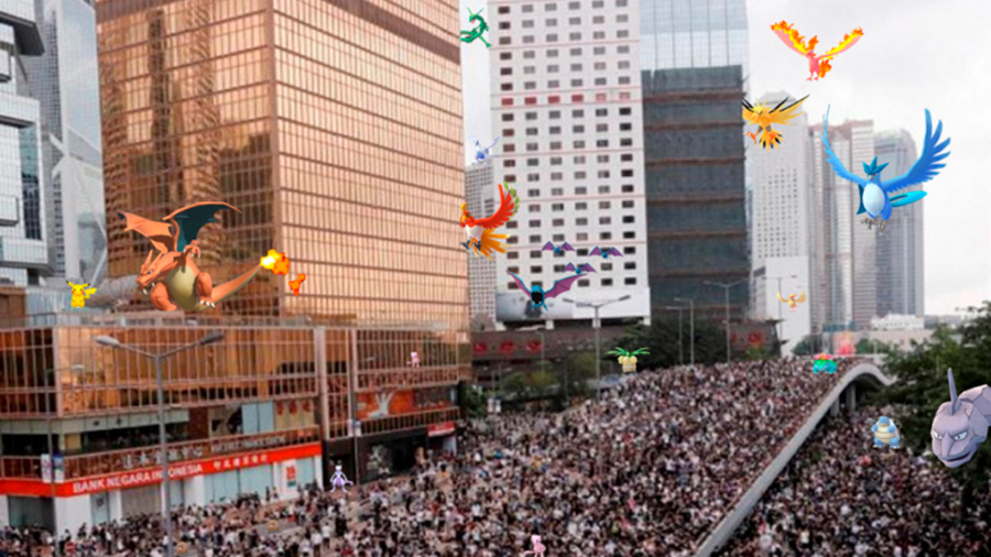 Pokémon Go: protestantes de Hong Kong usan el juego para organizarse y evitar el control del gobierno chino