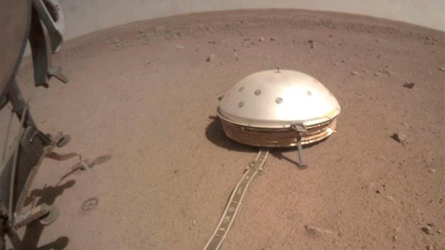 Intento infructuoso de recuperar el taladro de la misión InSight en Marte