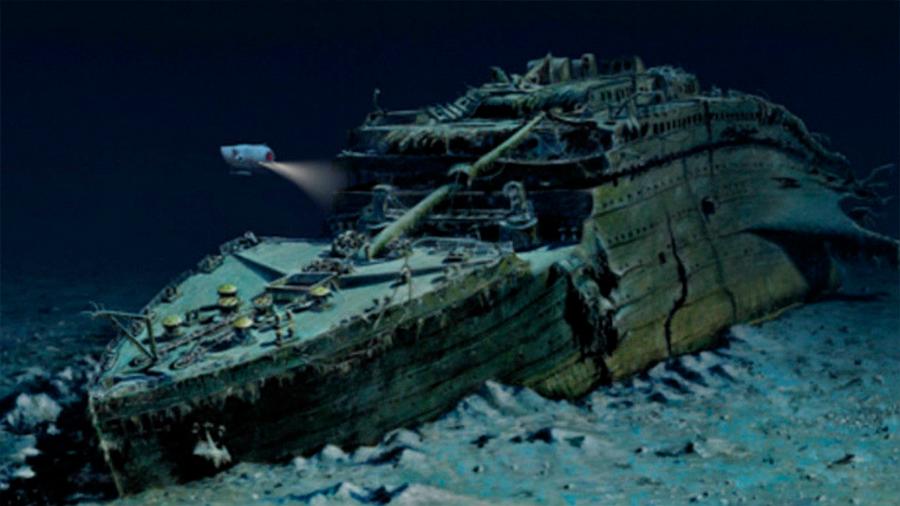 Así se ve el Titanic 107 años después del naufragio