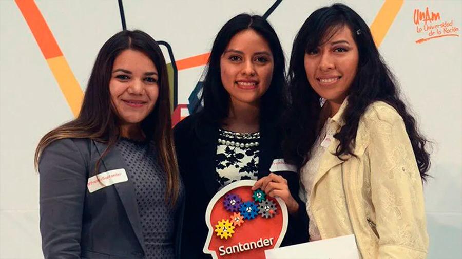 Alumnas de la UNAM reciben Premio a la Innovación Empresarial al crear singular parche que cicatriza heridas