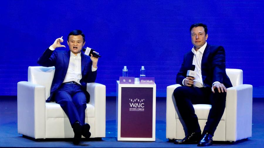 Los magnates Jack Ma y Elon Musk discrepan sobre cuál es la mayor amenaza para la humanidad