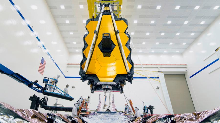 La NASA logra ensamblar con éxito el telescopio espacial James Webb