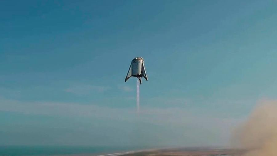 Así vuela el Spacehopper, el prototipo de la nave que SpaceX enviará Marte