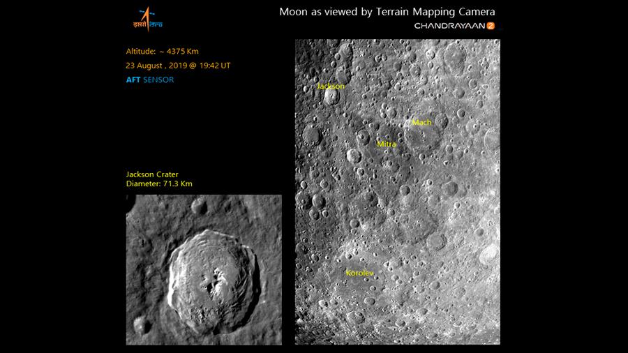 El módulo lunar indio se prepara para alunizar