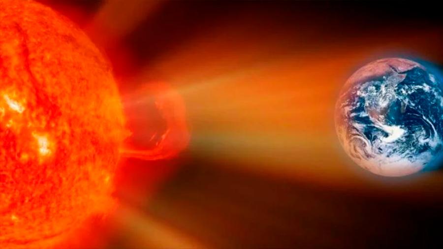 Tormenta solar impacta a la tierra