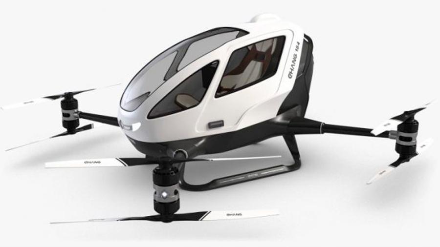 Alistan el primer dron de pasajeros en México que operará en 2020 [VIDEO]