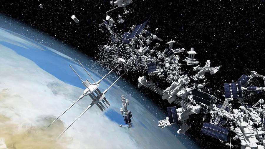 Científicos rusos patentan sistema para recoger la basura espacial