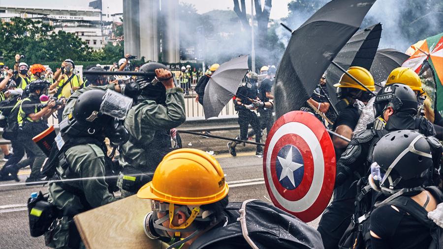 La gran batalla de Hong Kong no está en la calle sino en internet