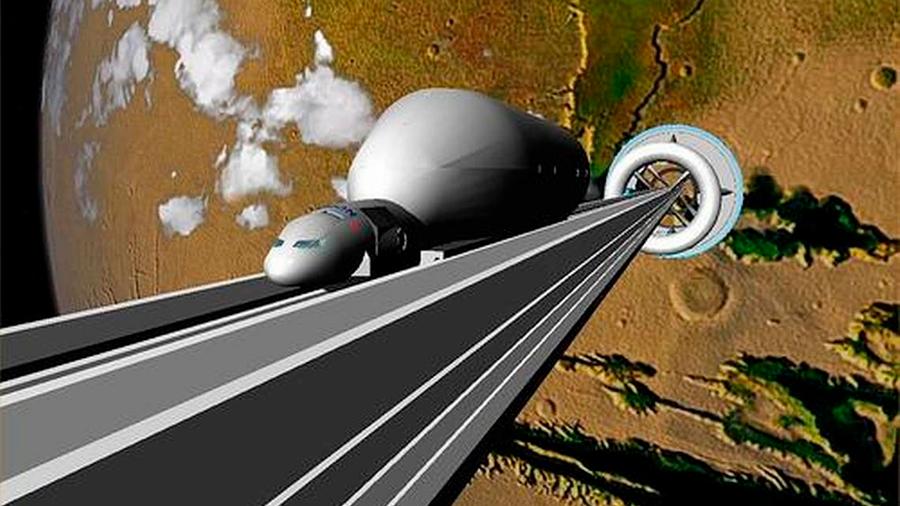 """Cómo funcionaría el """"ascensor a la Luna"""" que proponen investigadores de universidades de Cambridge y Columbia"""