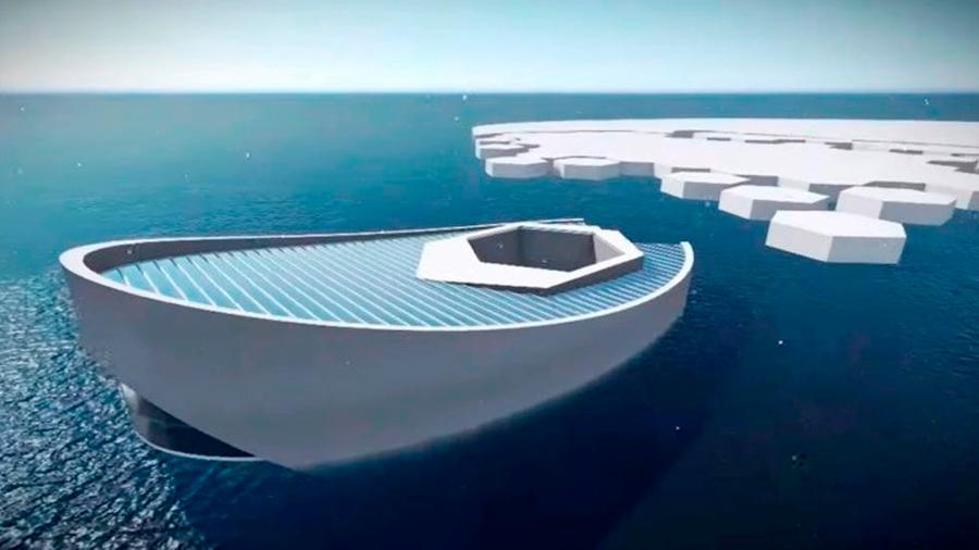 Diseñan en Indonesia un submarino productor de icebergs