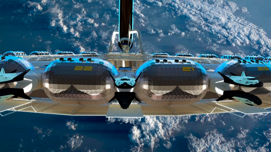 Proyectan un hotel en órbita alrededor de la Tierra con gravedad artificial para el año 2025