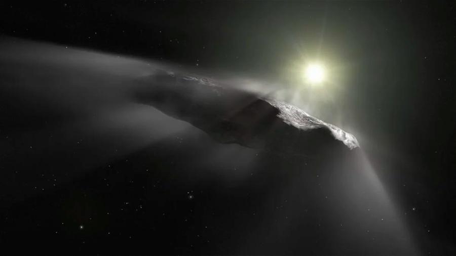 El primer cometa interestelar es de hielo y polvo, como los autóctonos