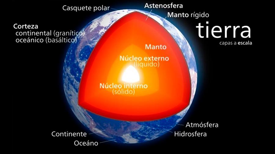 Enormes masas del manto terrestre, intactas des hace 4.500 millones de años