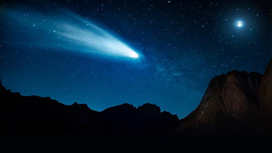 Se descubre un 'portal' orbital por el que los cometas se acercan al Sol