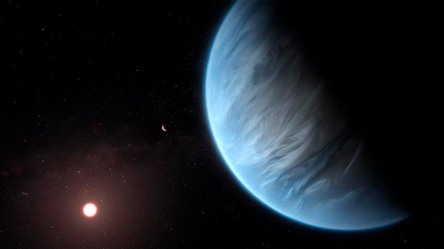 Detectan por primera vez agua en un exoplaneta potencialmente habitable