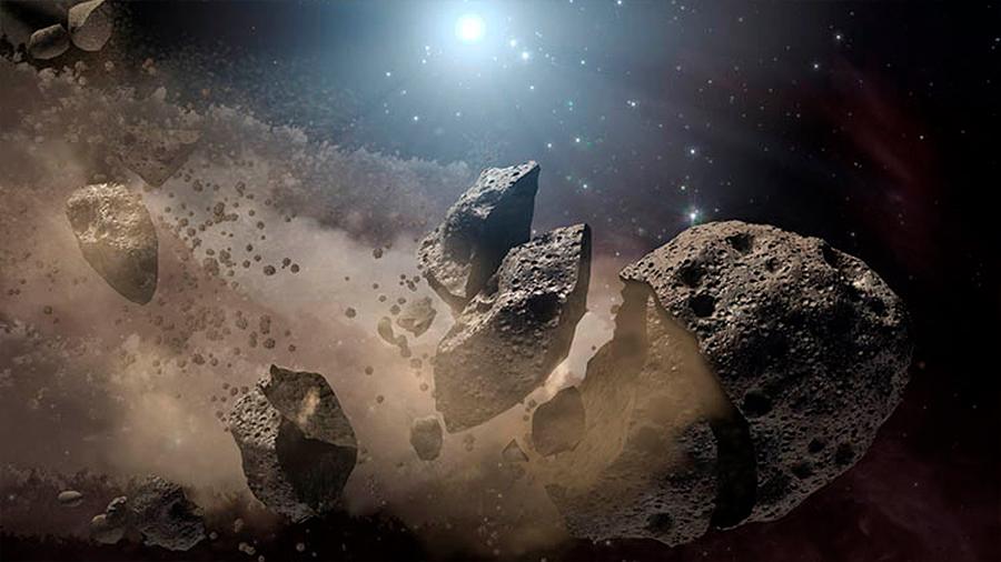 Polvo de asteroide de 150 kilómetros de ancho pudo ocasionar una edad de hielo