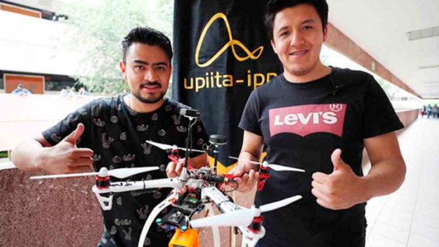 Crean alumnos mexicanos dron capaz de localizar víctimas de sismos