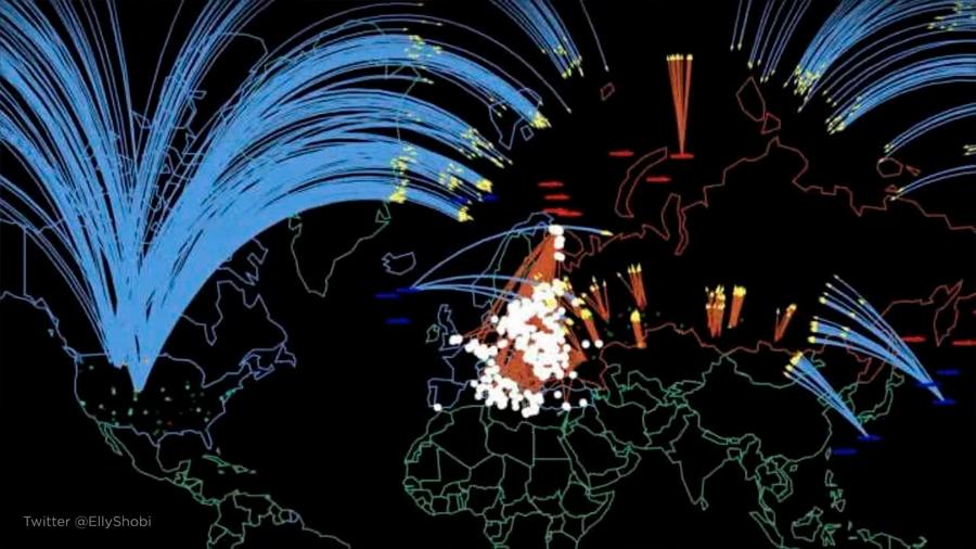 """""""34 millones de muertos en pocas horas"""": la simulación de la Universidad de Princeton ante una guerra nuclear entre Rusia y EU"""