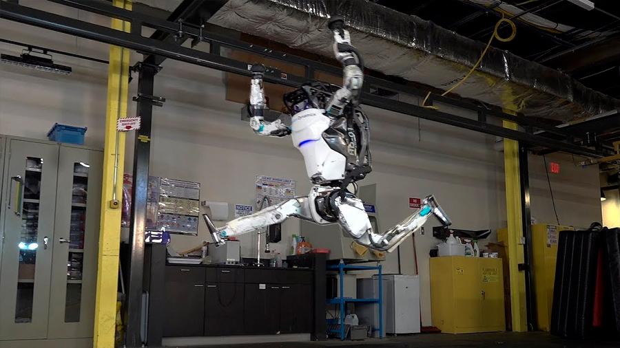 Boston Dynamics muestra impresionante video donde Atlas hace piruetas como un gimnasta
