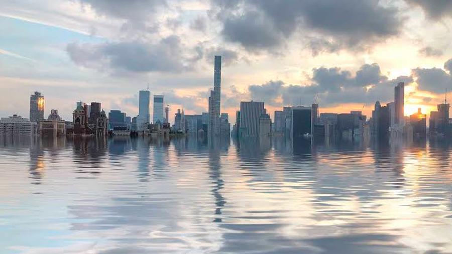 ONU alerta que el aumento del nivel de los océanos se acelera y es irreversible