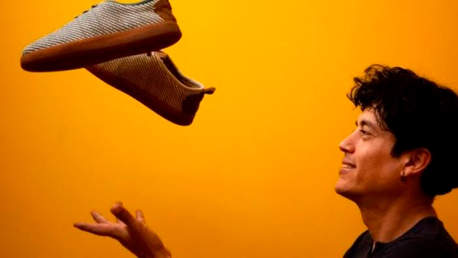 Empresa textil europea fabrica zapatos biodegradables con fibra de plátano colombiano
