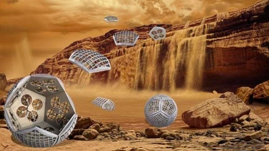 La NASA diseña 'transformers' para explorar las lunas de Saturno