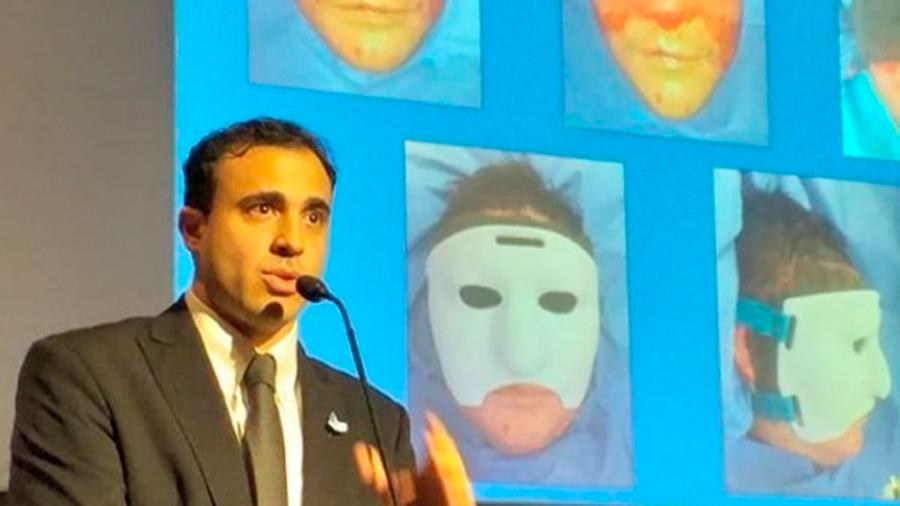 Cirujanos argentinos crearon la primera mascara 3D para reconstrucción facial