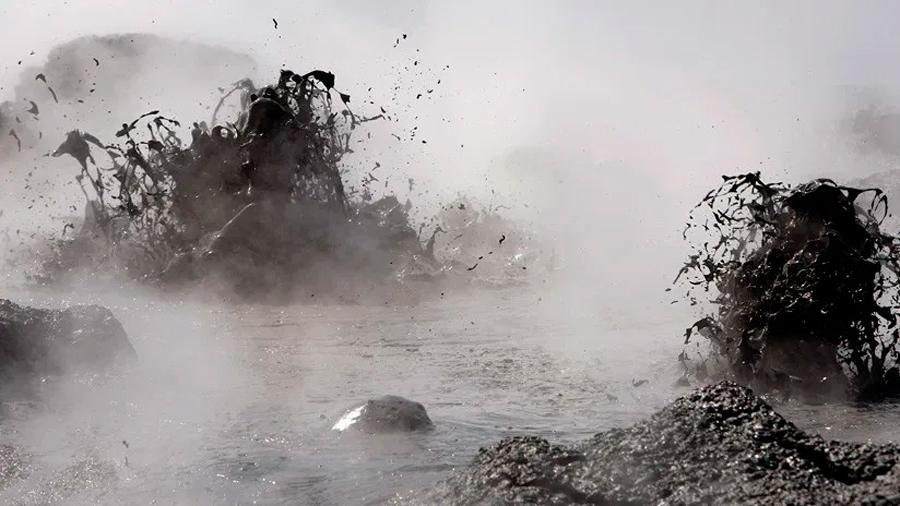 Descubren un complejo de volcanes y flujos de lava ocultos bajo el mar