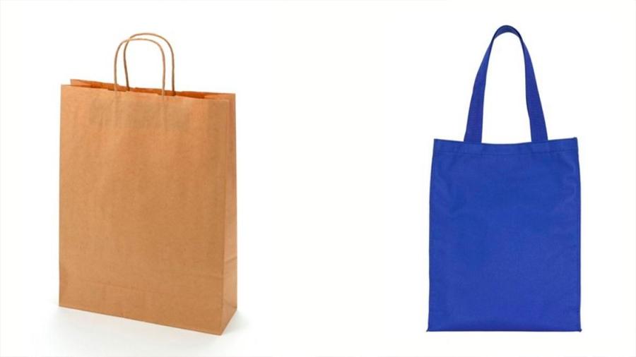 Bolsas de algodón y papel pueden dañar al medio ambiente como las de plástico