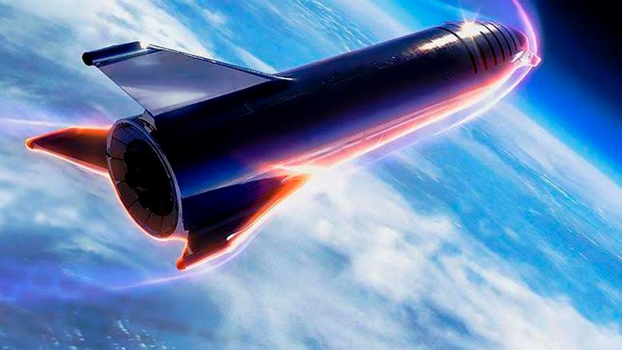 Esta nueva versión de la nave de Space X es la que transportará a 100 personas a la Luna