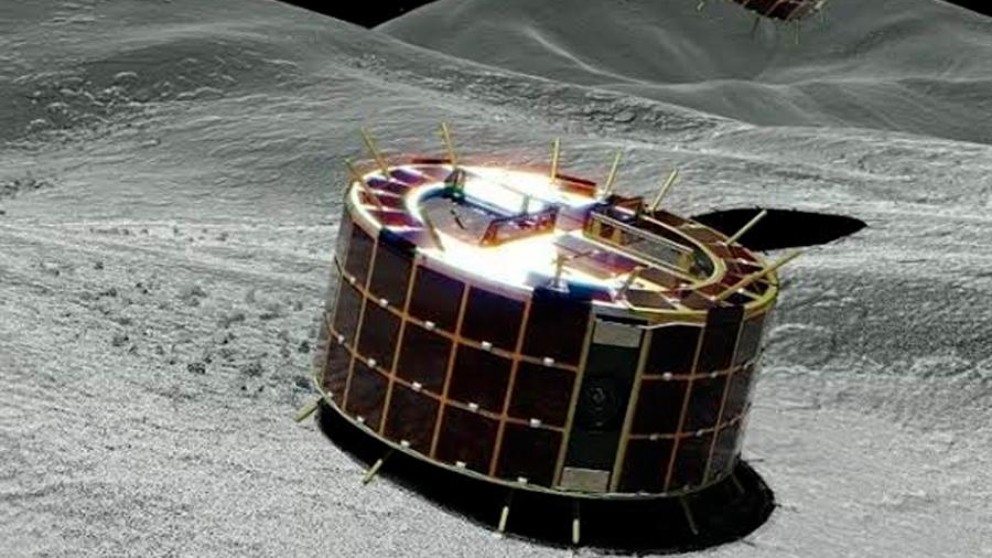 Japón lanza un rover explorador a la superficie del asteroide Ryugu