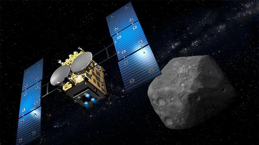 La nave espacial japonesa Hayabusa2 comienza el descenso del rover al asteroide Ryugu