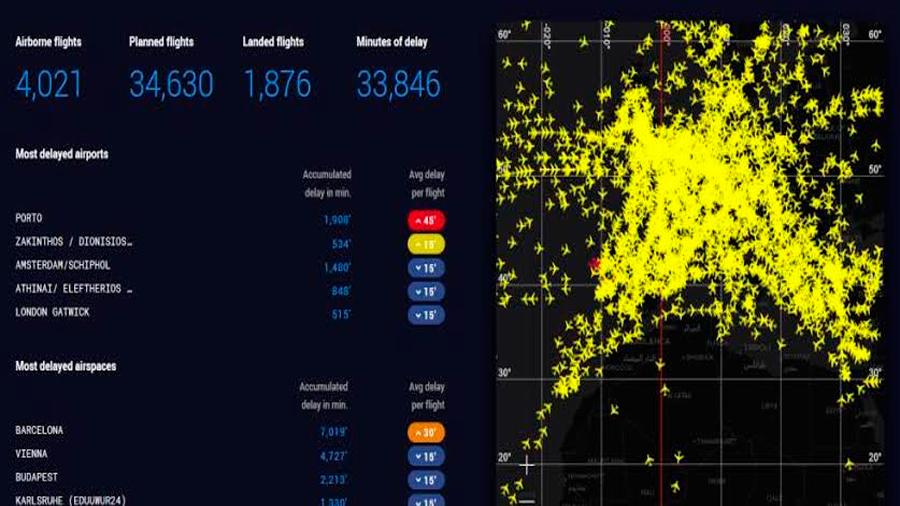 Europa recurre a satélites ante el próximo colapso de los sistemas de comunicación aérea