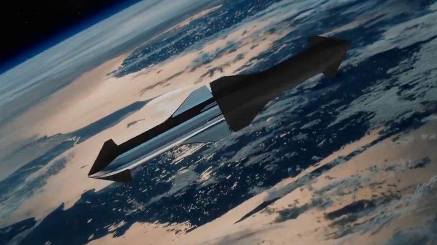 Space X rediseña su proyecto de cohete interplanetario Starship